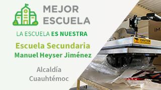 Escuela Secundaria Manuel Heyser Jiménez